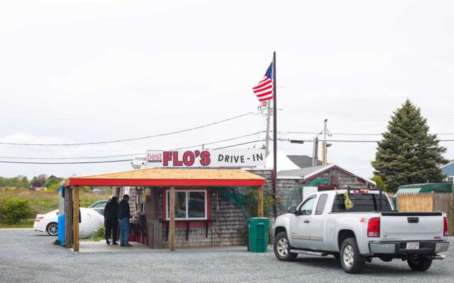 Flo's Clam Shack, seafood, restaurant, Rhode Island, seafood restaurant, flo's drive in, Portsmouth